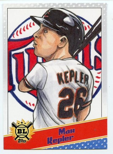 Photo of 2020 Topps Big League Star Caricature Reproductions #SCOMK Max Kepler