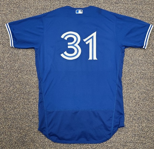 Photo of Authenticated Team Issued 2020 Spring Training Jersey: #31. Size 48