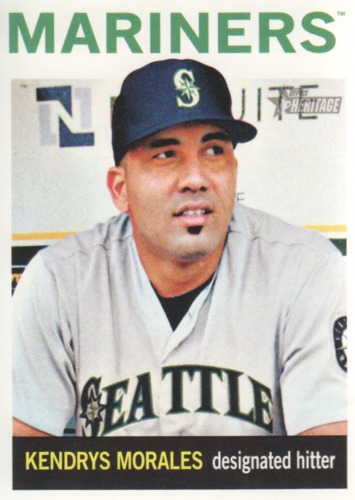 Photo of 2013 Topps Heritage #318 Kendrys Morales