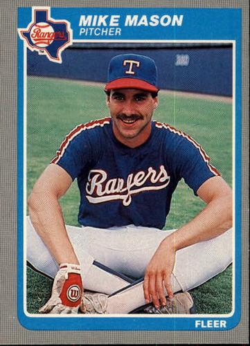 Photo of 1985 Fleer #562 Mike Mason RC