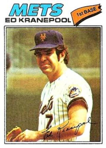 Photo of 1977 Topps #201 Ed Kranepool