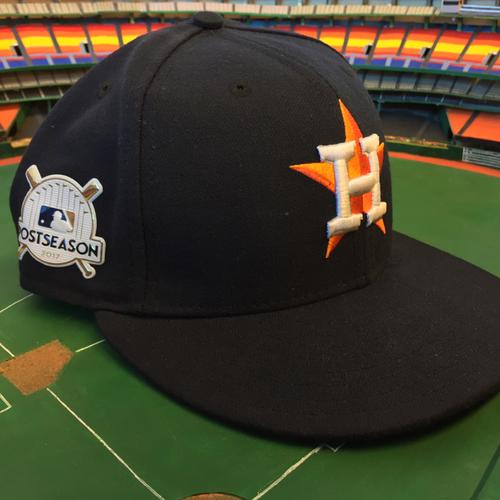 Photo of ALCS Game 7 - Alex Cora Game-Used Postseason Hat