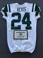 New York Jets - 2016 #24 Darrelle Revis Game Worn Jersey