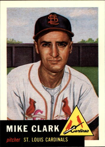 Photo of 1991 Topps Archives 1953 #193 Mike Clark