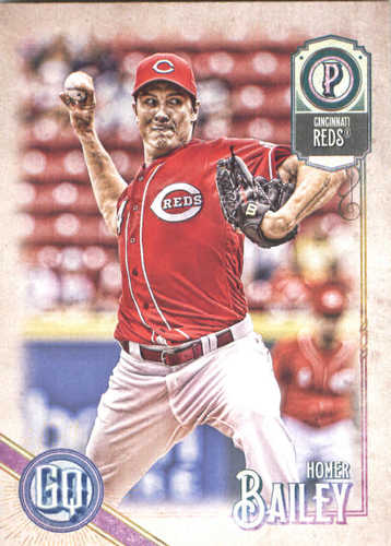 Photo of 2018 Topps Gypsy Queen #276 Homer Bailey