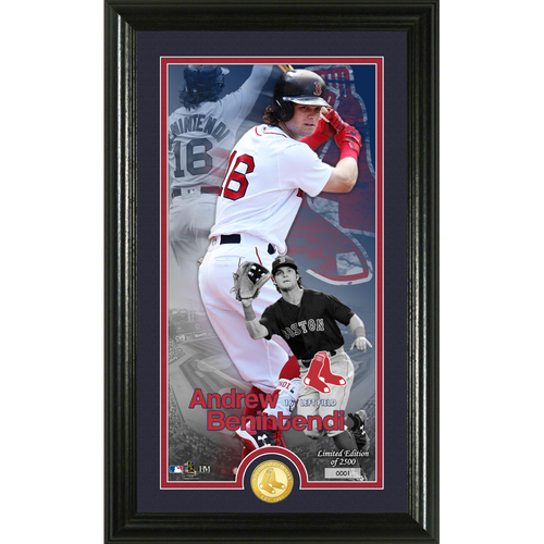 Photo of Serial #1! Andrew Benintendi Supreme Bronze Coin Photo Mint