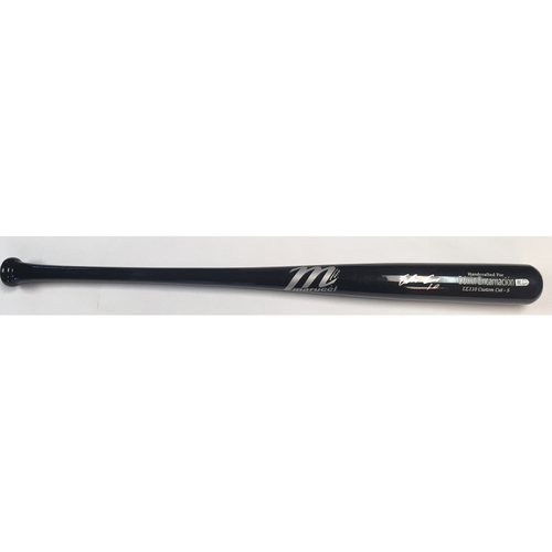 Photo of Edwin Encarnacion Autographed Game Model Marucci Bat