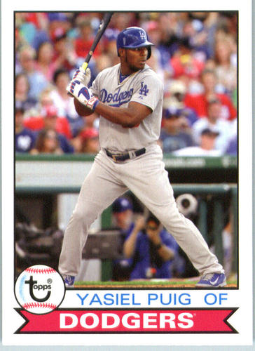 Photo of 2016 Topps Archives #156 Yasiel Puig