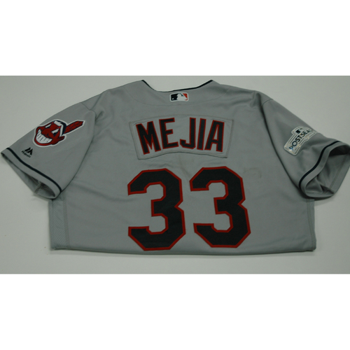 Photo of Francisco Mejia 2017 Team-Issued Postseason Road Jersey