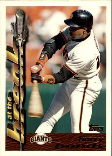 Photo of 1995 Topps Traded #3T Barry Bonds AB