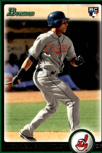 Photo of 2010 Bowman #217 Michael Brantley Rookie Card