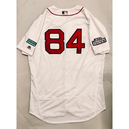 Photo of 2019 London Series - Game-Used Jersey - Ramon Vazquez, New York Yankees vs Boston Red Sox - 6/29/19