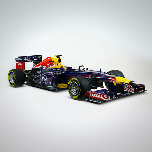 Photo of Mark Webber 2013 1:4 Scale Model F1 Car - Red Bull Racing