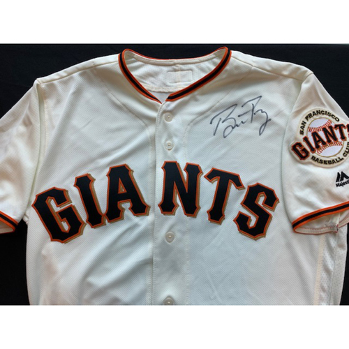 Photo of Giants End of Season Auction: Buster Posey Signed Jersey