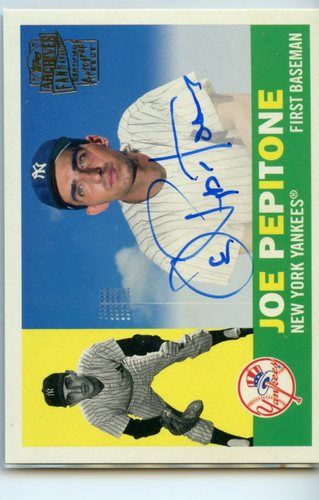 Photo of 2019 Topps Archives Fan Favorites Autographs #FFAJP Joe Pepitone