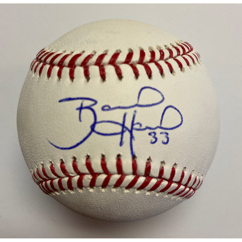 Brad Hand Autographed Authentic Baseball