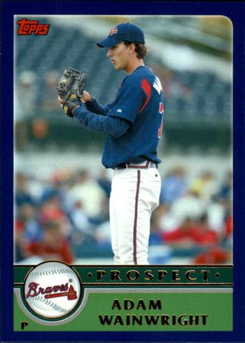 Photo of 2003 Topps Chrome Traded #T159 Adam Wainwright PROS