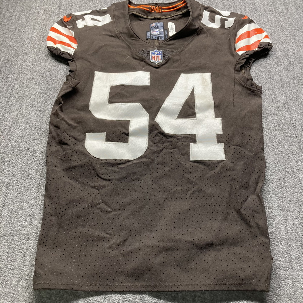 NFL Auction | Crucial Catch - Browns Olivier Vernon Game Used ...