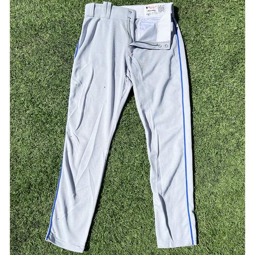 Photo of Michael Conforto #30 - Team Issued Road Grey Pants - 2019 Season