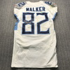 Crucial Catch - Titans Delanie Walker Signed Game Used Jersey (10/6/19) Size 40