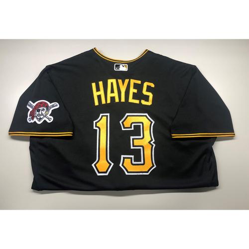 Photo of Team-Used Jersey: Ke'Bryan Hayes (2020)