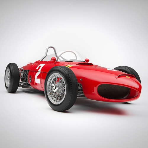 Photo of Phil Hill F156 1961 Sharknose 1:8 Scale Model