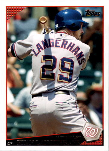 Photo of 2009 Topps #13 Ryan Langerhans