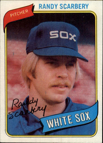 Photo of 1980 Topps #291 Randy Scarberry RC