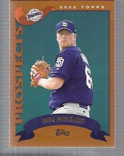 Photo of 2002 Topps Traded #T144 Ben Howard RC