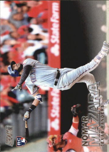 Photo of 2016 Stadium Club #36 Nomar Mazara Rookie Card