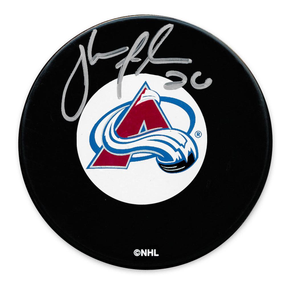 John-Michael Liles Colorado Avalanche Autographed Puck