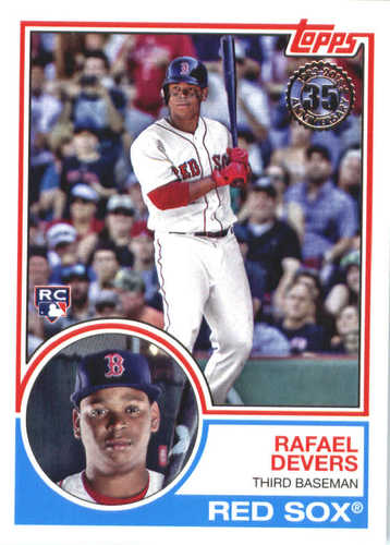 Photo of 2018 Topps '83 Topps #8314 Rafael Devers