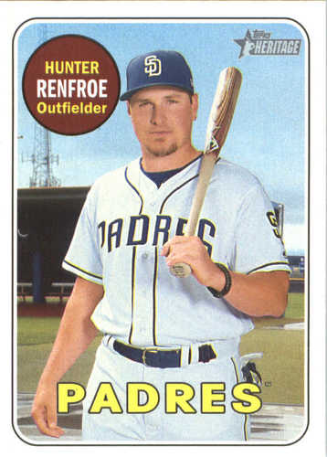 Photo of 2018 Topps Heritage #198 Hunter Renfroe