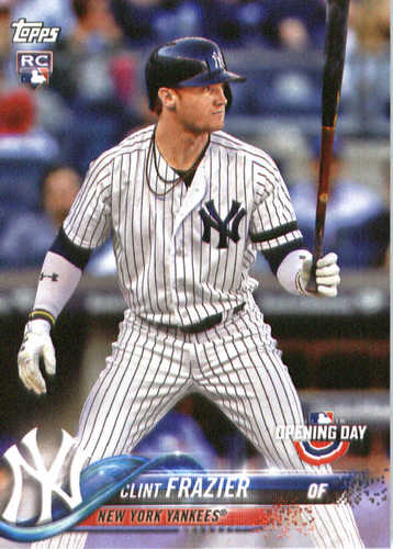 Photo of 2018 Topps Opening Day #117 Clint Frazier