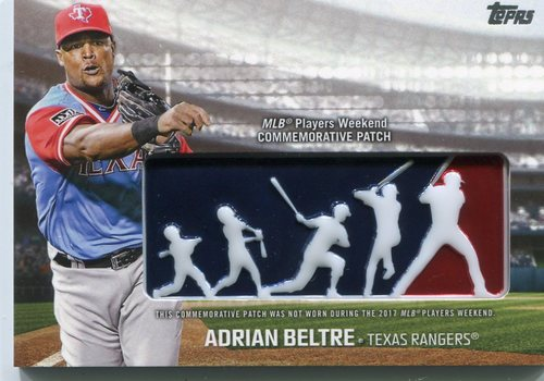 Photo of 2018 Topps Players Weekend Patches #PWPABL Adrian Beltre