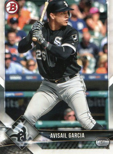 Photo of 2018 Bowman #77 Avisail Garcia
