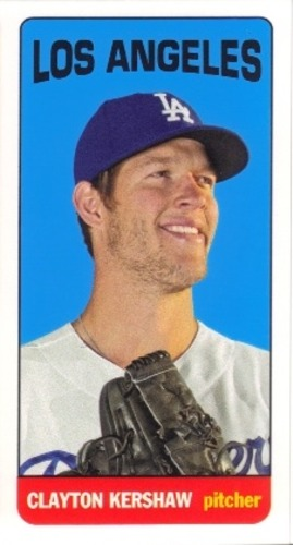 Photo of 2013 Topps Archives Mini Tall Boys #CK Clayton Kershaw