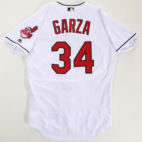 Photo of 2018 Arizona Fall League Game-Used Jersey - Justin Garza -Size 44