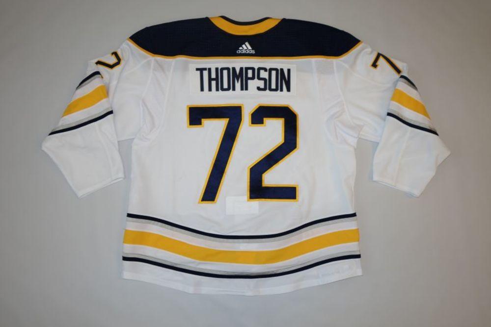 Tage Thompson 2018-19 Buffalo Sabres Set 1 Away Jersey