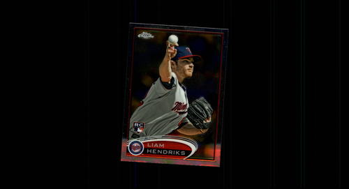 Photo of 2012 Topps Chrome #154 Liam Hendriks RC