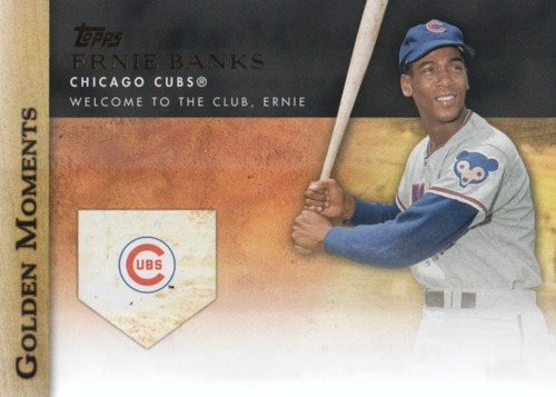 Photo of 2012 Topps Update Golden Moments #GMU21 Ernie Banks