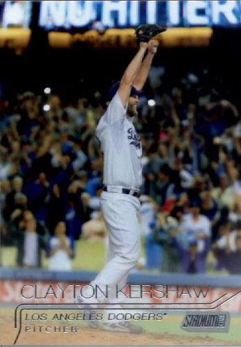 Photo of 2015 Stadium Club #182 Clayton Kershaw