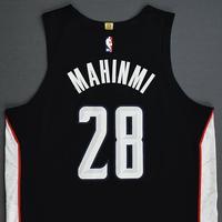 Ian Mahinmi - Washington Wizards - 2018-19 Season - Game-Worn Black City Edition Jersey - Dressed, Did Not Play