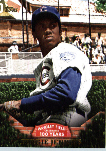 Photo of 2016 Topps 100 Years at Wrigley Field #WRIG8 Fergie Jenkins