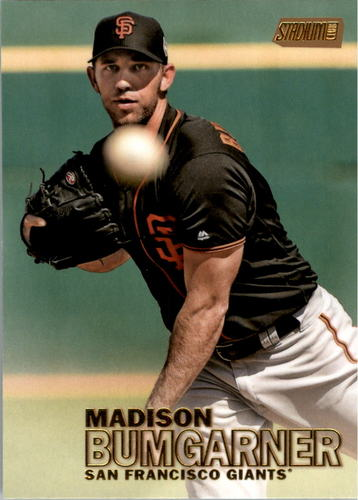 Photo of 2016 Stadium Club Gold #214 Madison Bumgarner