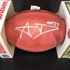 PCC - Rams Aaron Donald Signed Authentic Football with 100 Seasons Logo