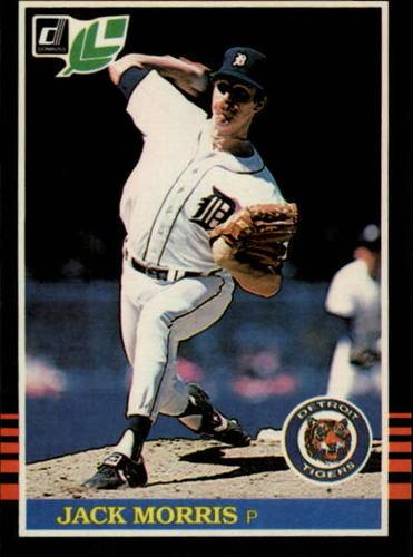 Photo of 1985 Leaf/Donruss #142 Jack Morris
