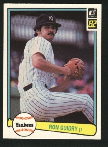 Photo of 1982 Donruss #548 Ron Guidry