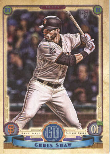 Photo of 2019 Topps Gypsy Queen #248 Chris Shaw RC