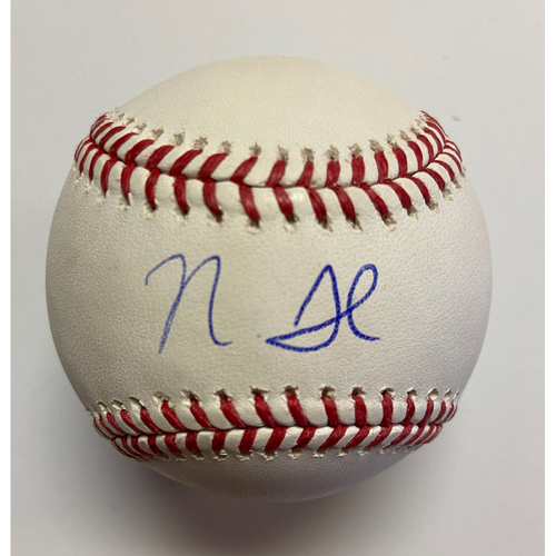 Photo of Nick Senzel Autographed Authentic Baseball